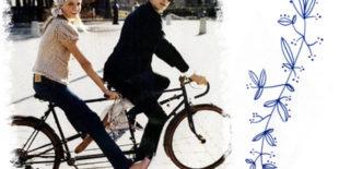 Succesvol daten doe je op de fiets
