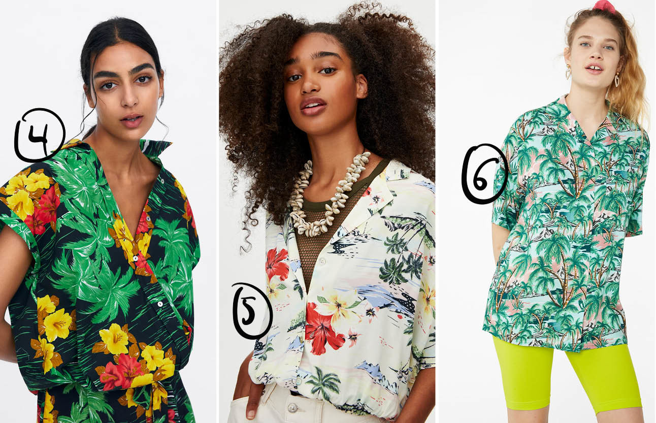 hawai blouse shopping