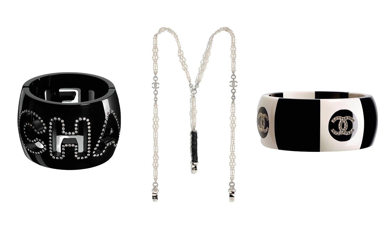 nieuwe armbanden en bretles van chanel