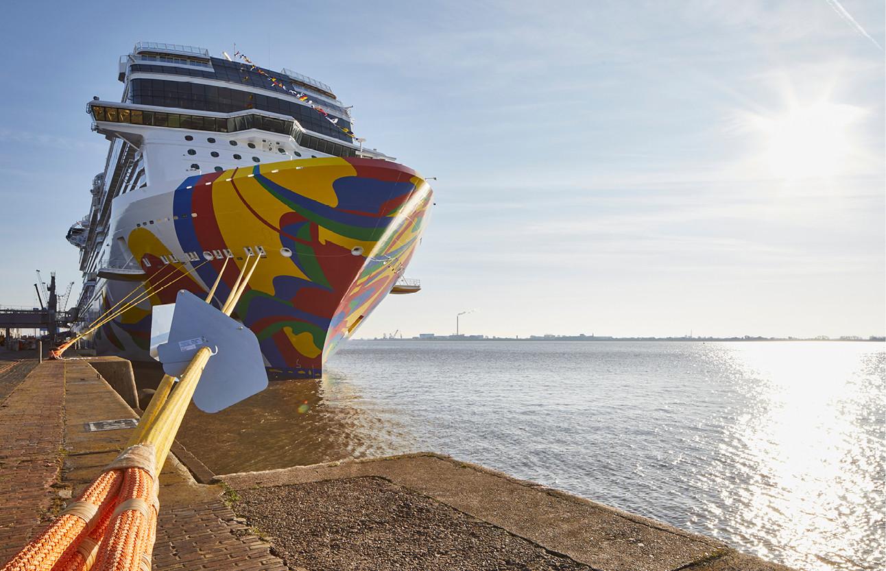 beelden van de norwegian cruise