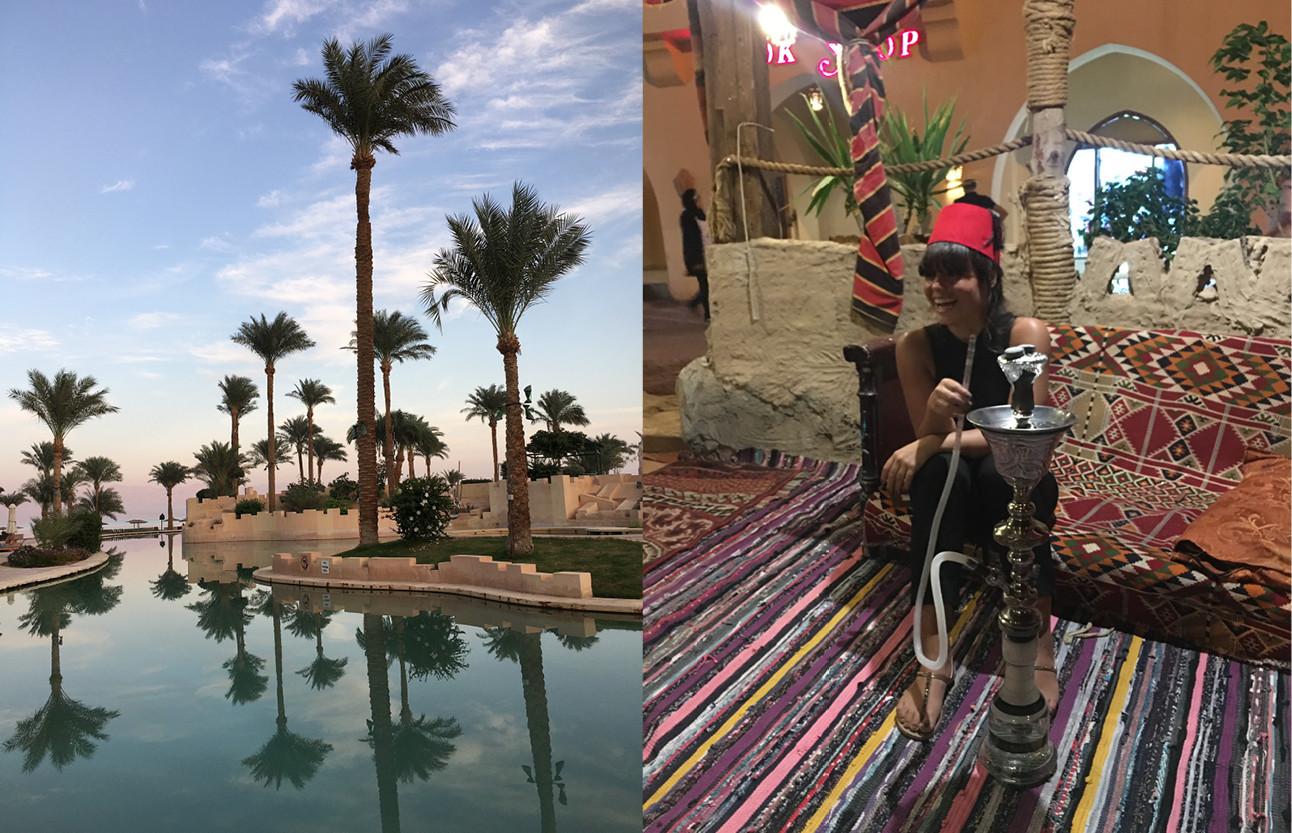beelden van kiki op vakantie in taba