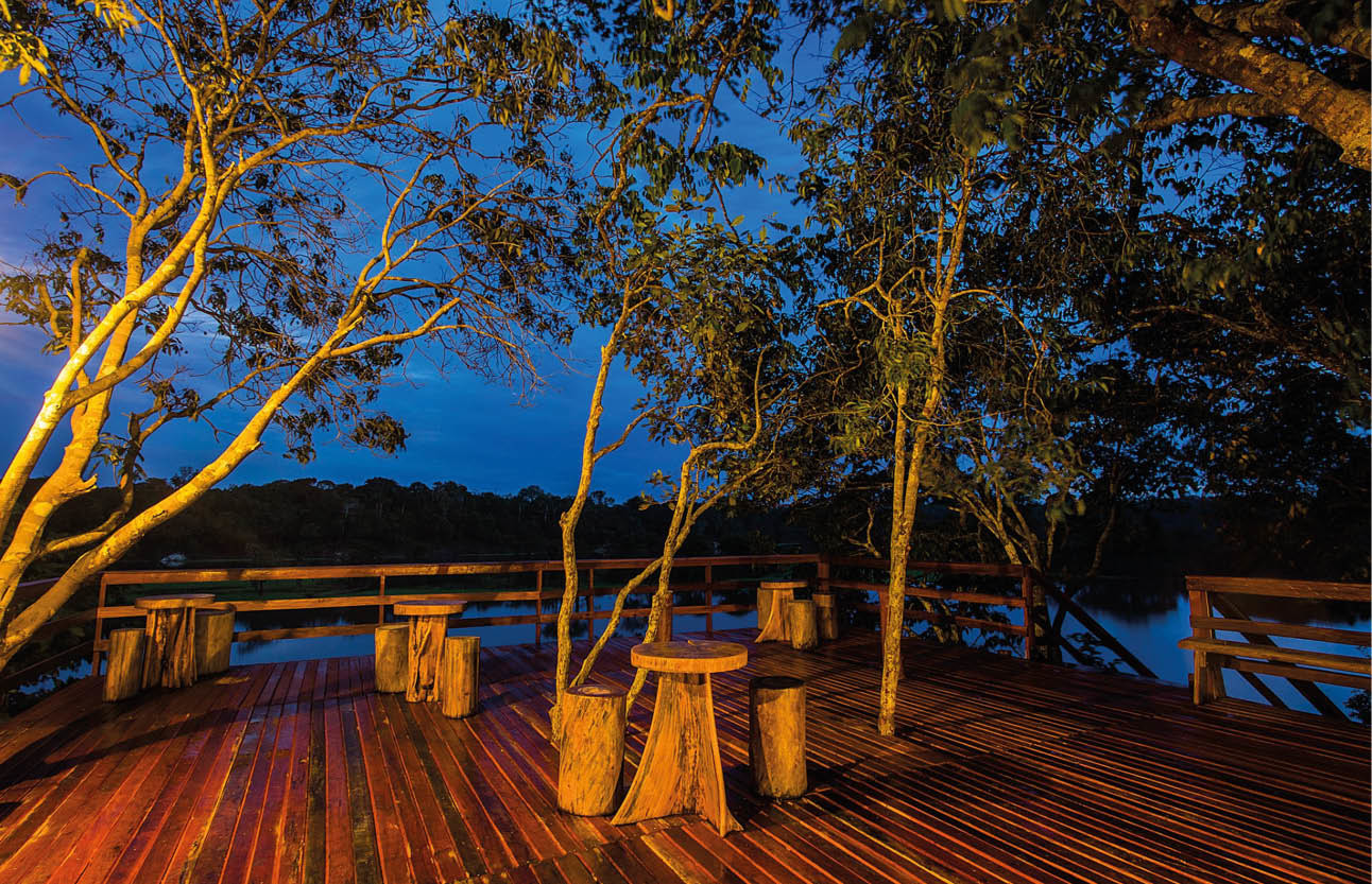 Huma logde Brazilië vakantie