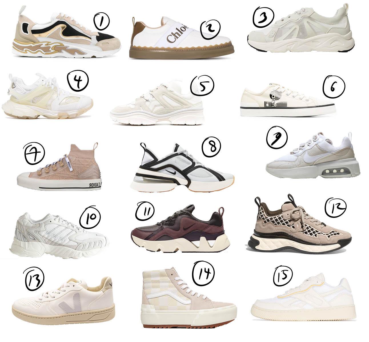 15 x de sneakers die we deze lente aan onze voeten willen