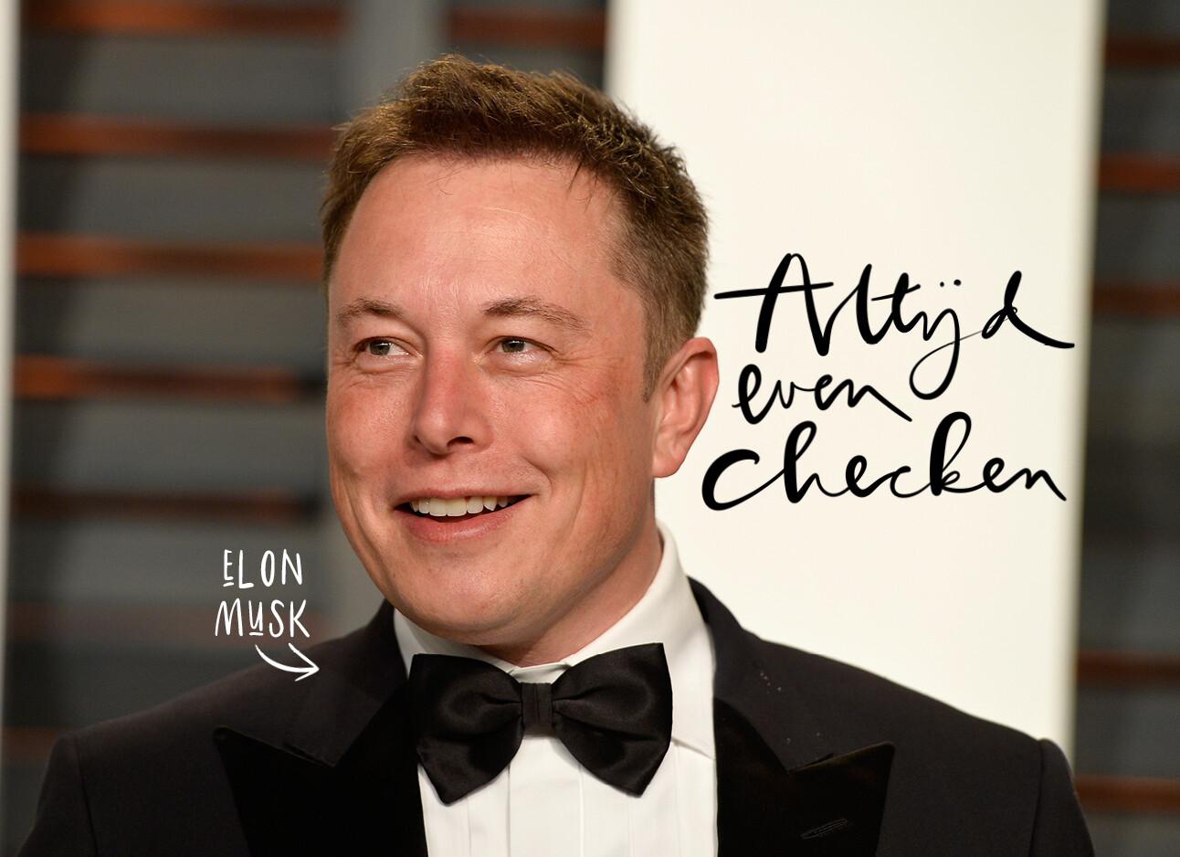 De vraag die Elon Musk altijd stelt bij een sollicitatiegesprek