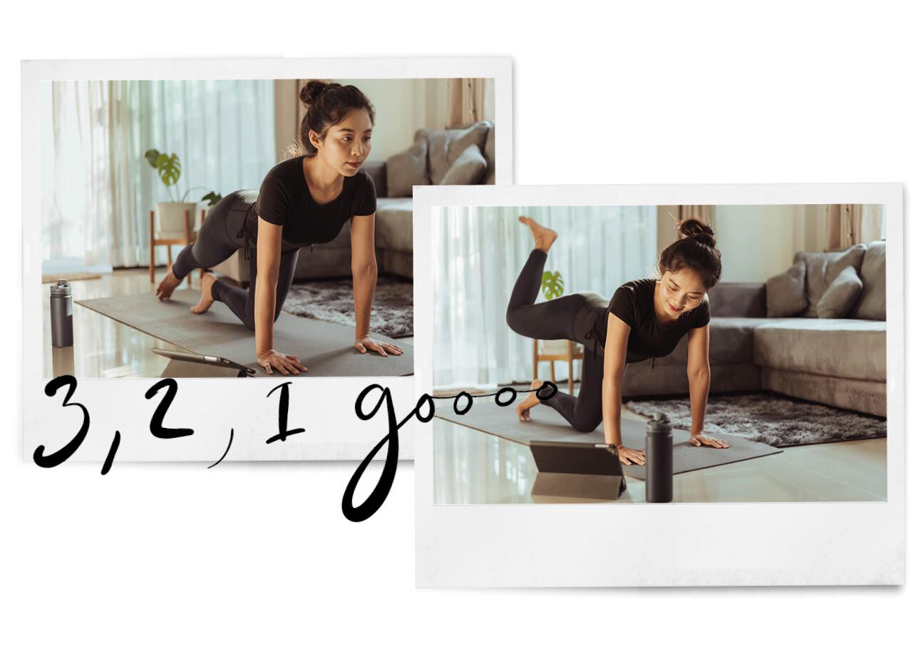De 5 beste booty oefeningen die je thuis kan doen