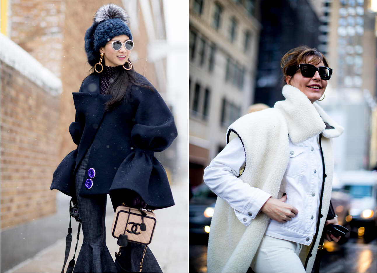Outfit inspiratie met temperaturen onder de nul