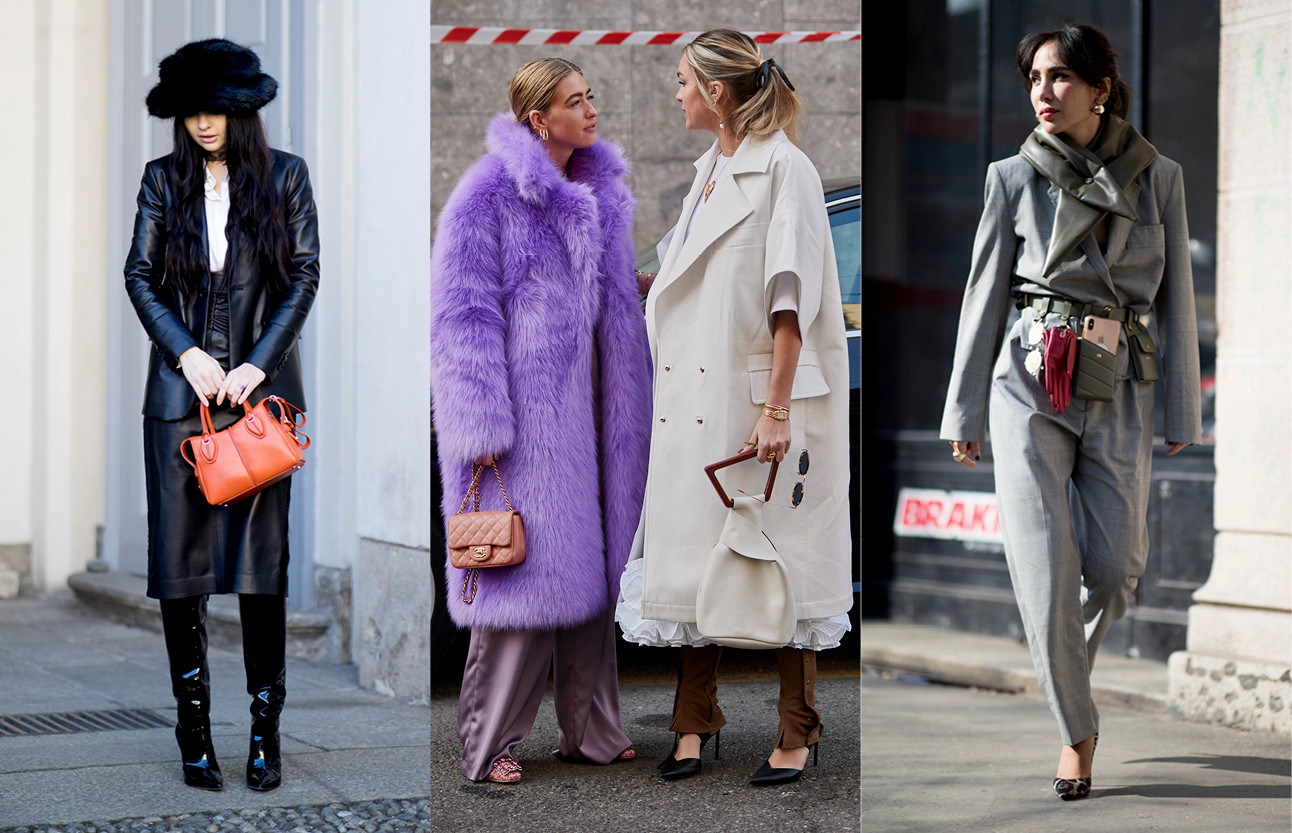 beeld van verschillende streetstyle trends