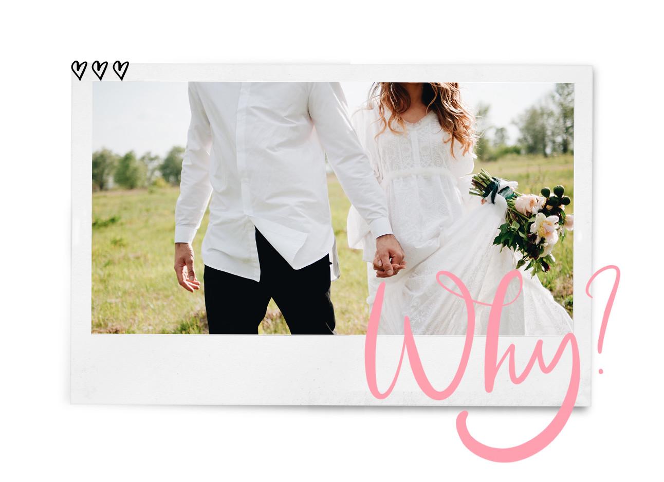 bruid en bruidegom trouwerij jurk