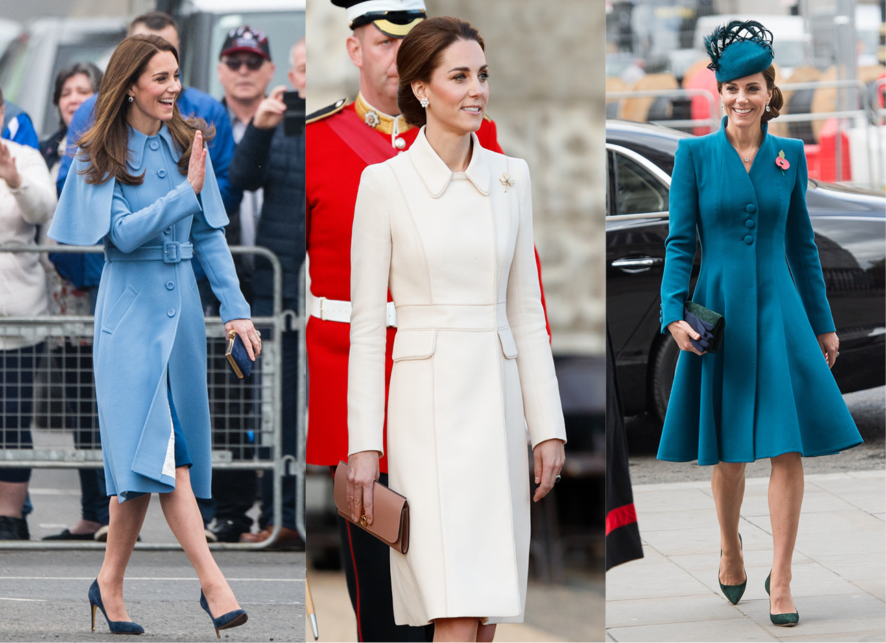 Stijllessen van Kate Middleton