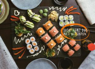 11 sushi-feitjes waar je van staat te kijken