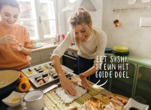 Nooit meer sushi verspillen