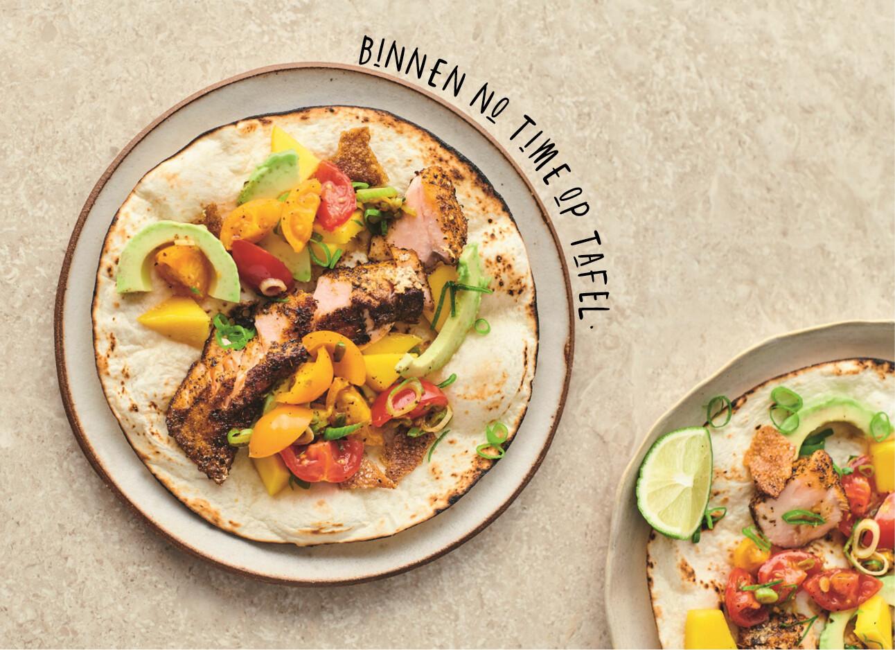 Een lekkere taco van Jamie voor thuis