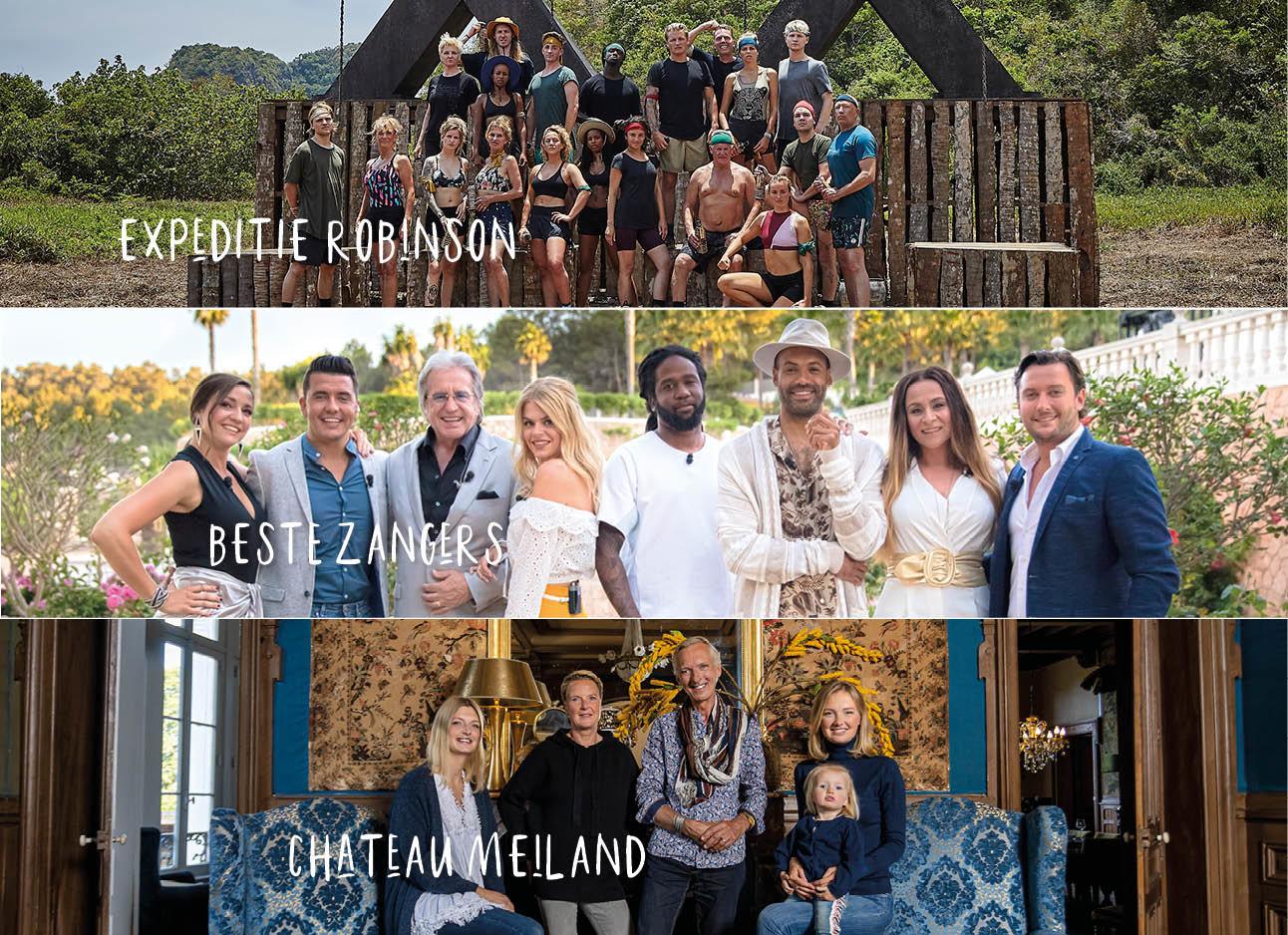 Expeditie robinson kandidaten beste zangers 2018 en chateau meiland familei
