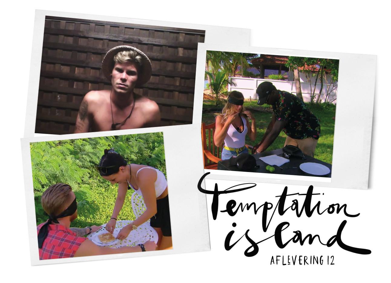 temptation island aflevering 12 dates, sidney en demi, demi en gaetan, en heikki