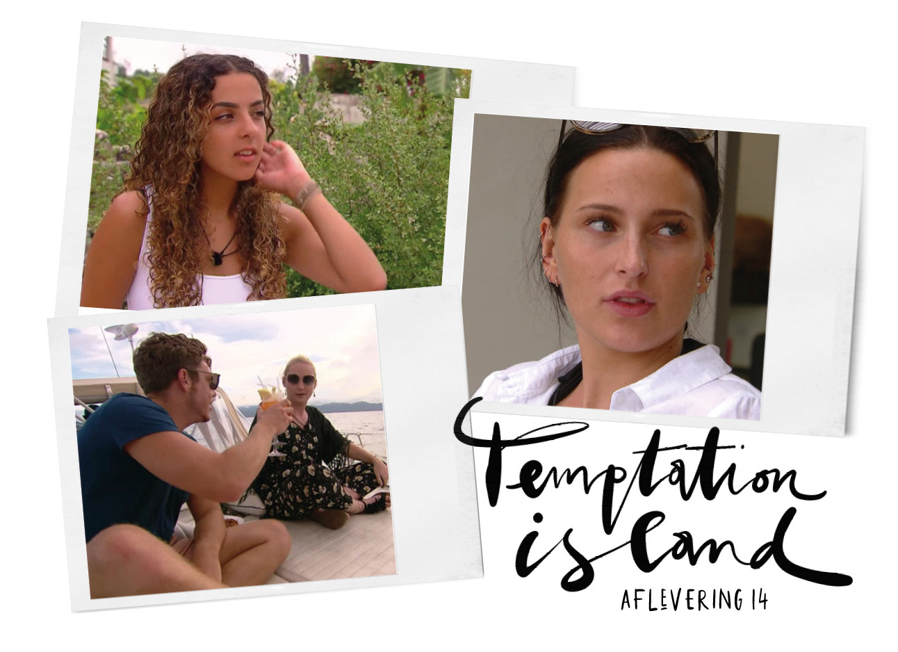 temptation island 2019 aflevering 14, maxime en laura, rodanya en demi
