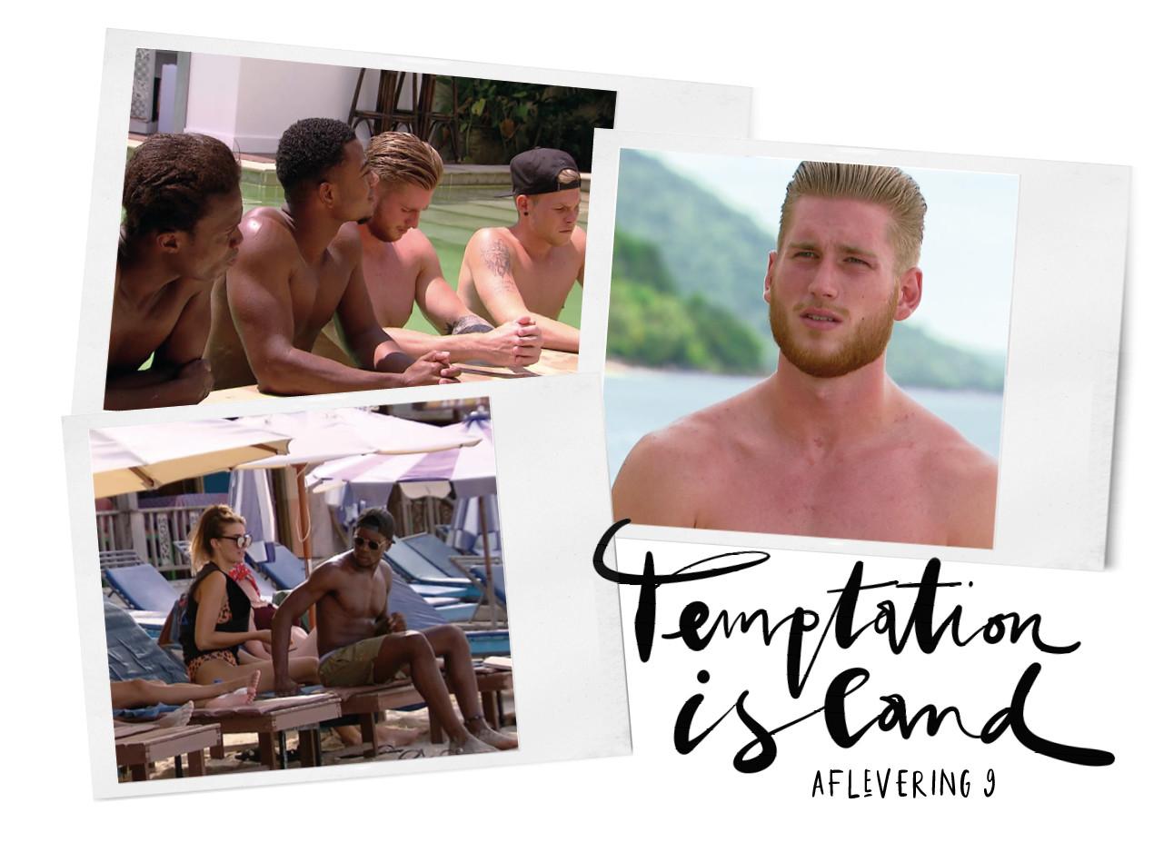 sidney temptation island brabbels kiki aflevering 9