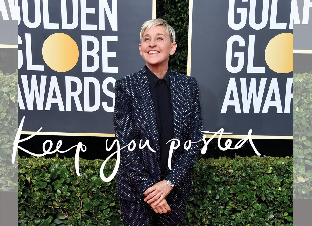The Ellen DeGeneres saga continues...