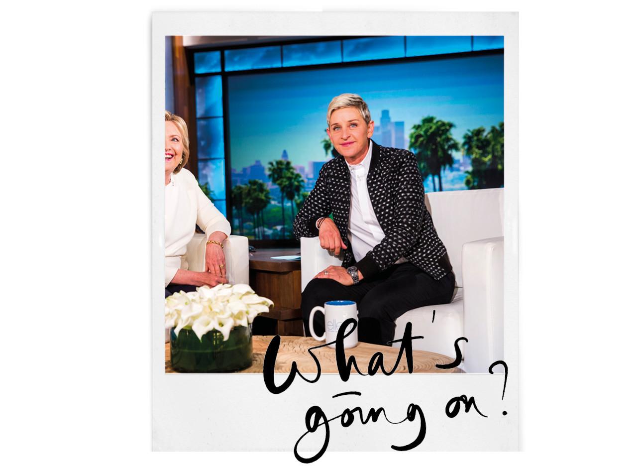 Oei: er komt een intern onderzoek naar The Ellen DeGeneres Show