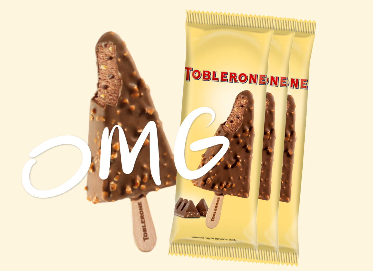 toblerone ijsjes