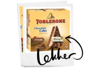 Deze Tobleronetaart van de Lidl wil je proeven