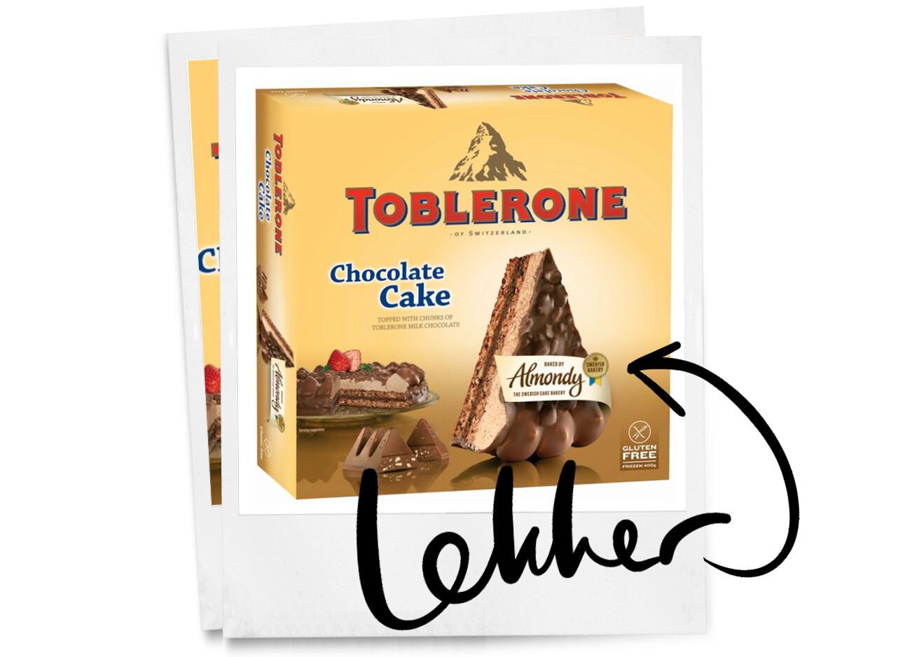 toblerone taart