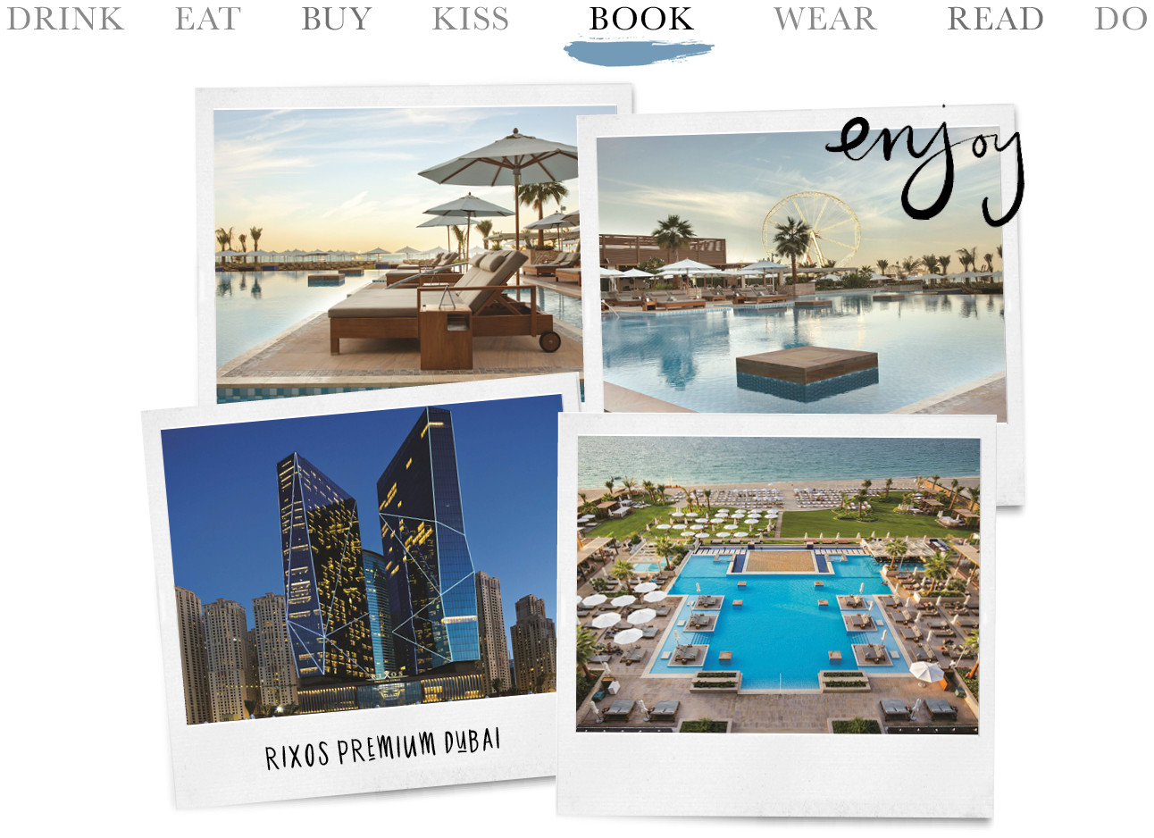 Today we Book - Rixos Premium Dubai