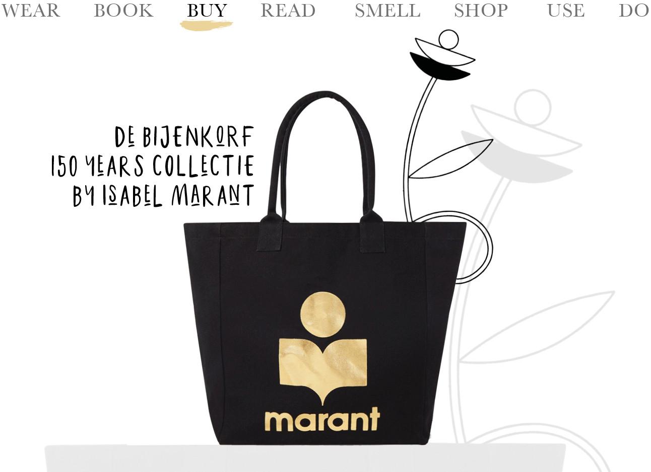 Today we shop de Bijenkorf 150 years collectie by Isabel Marant