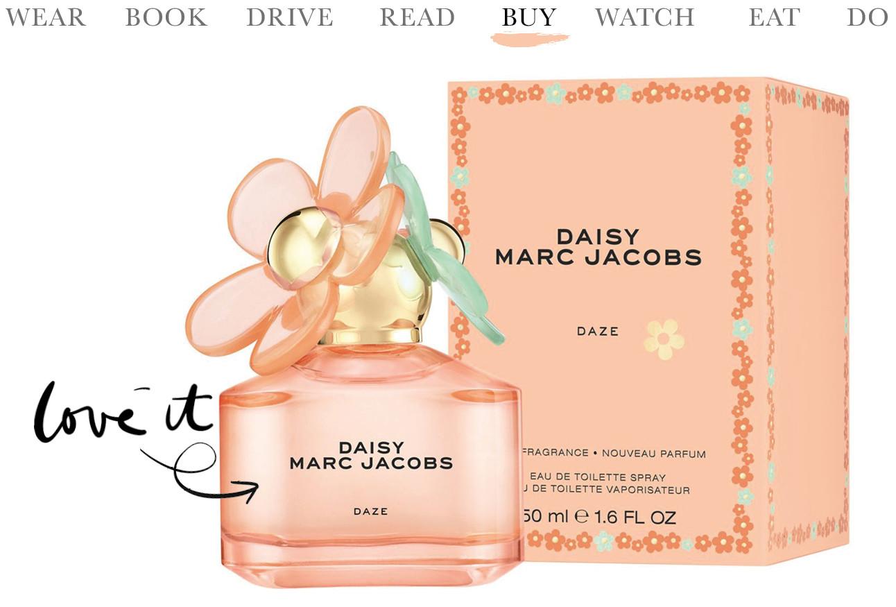 nieuwe geur daisy daze van marc jacobs