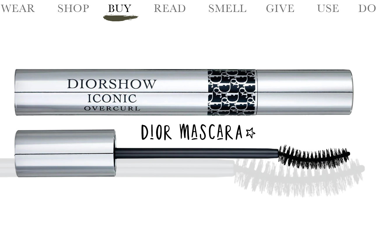 Today we…buy Dior mascara