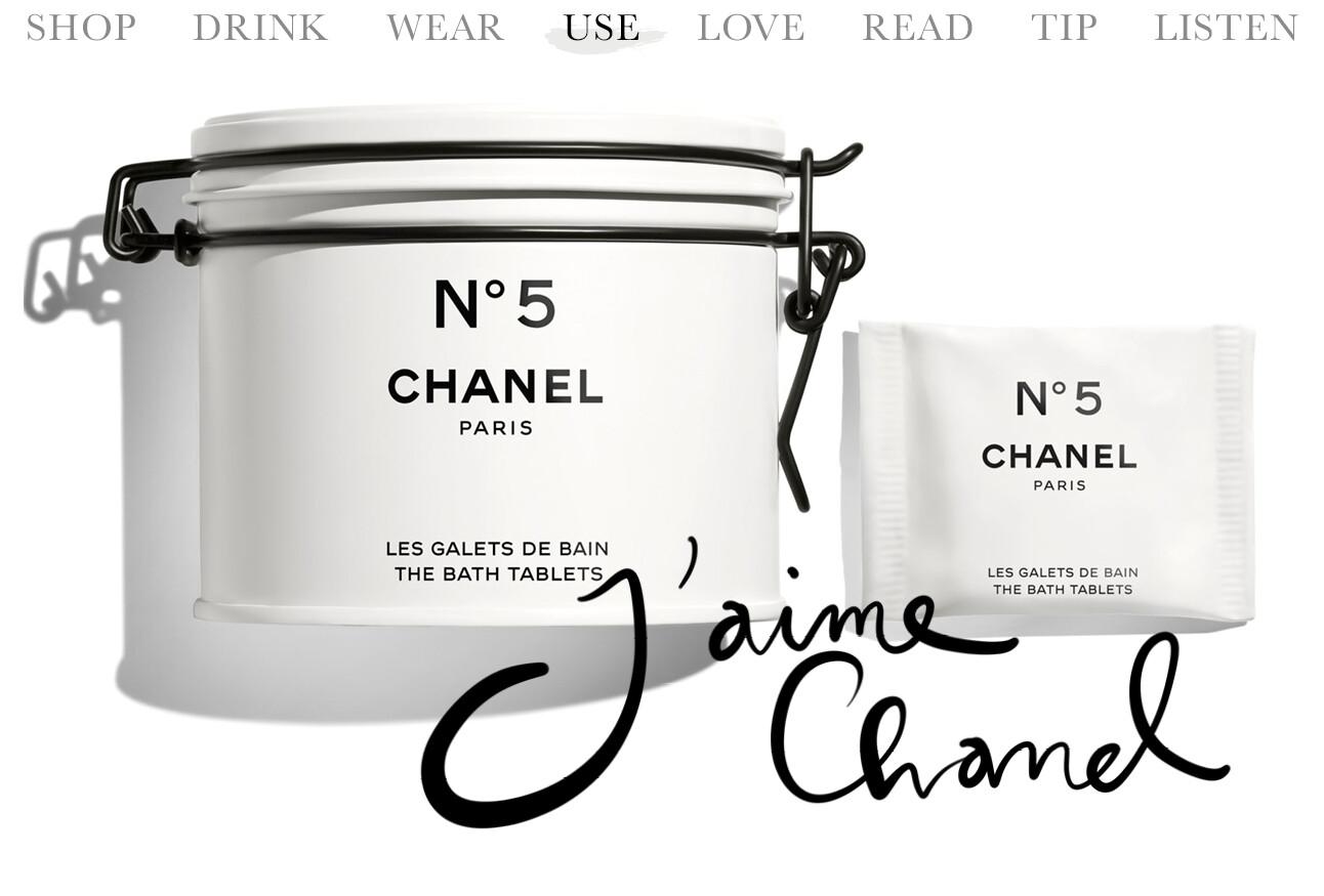 Chanel N5 badzout