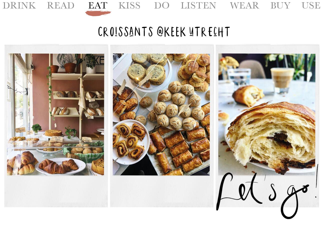 croissants @ KEEK Utrecht