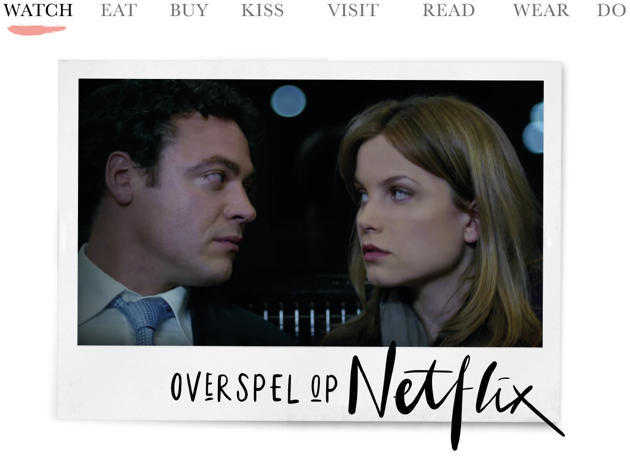 hoofdrolspelers van overspel screenshot beeld nu te zien op netflix today we watch