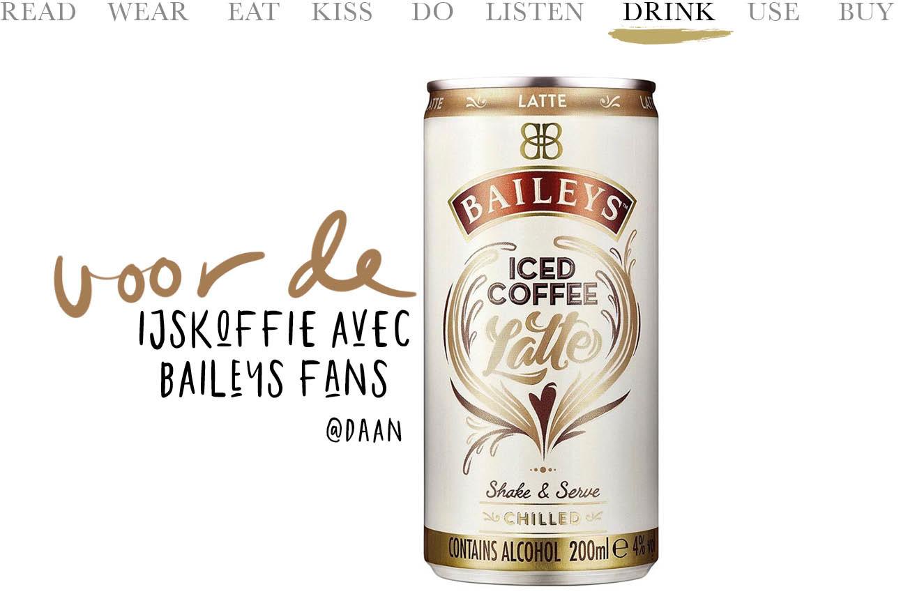 drink baileys koffie ah