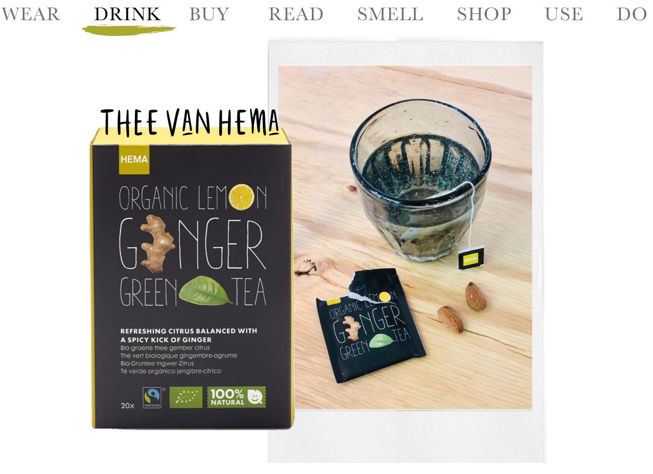 thee lemon ginger hema