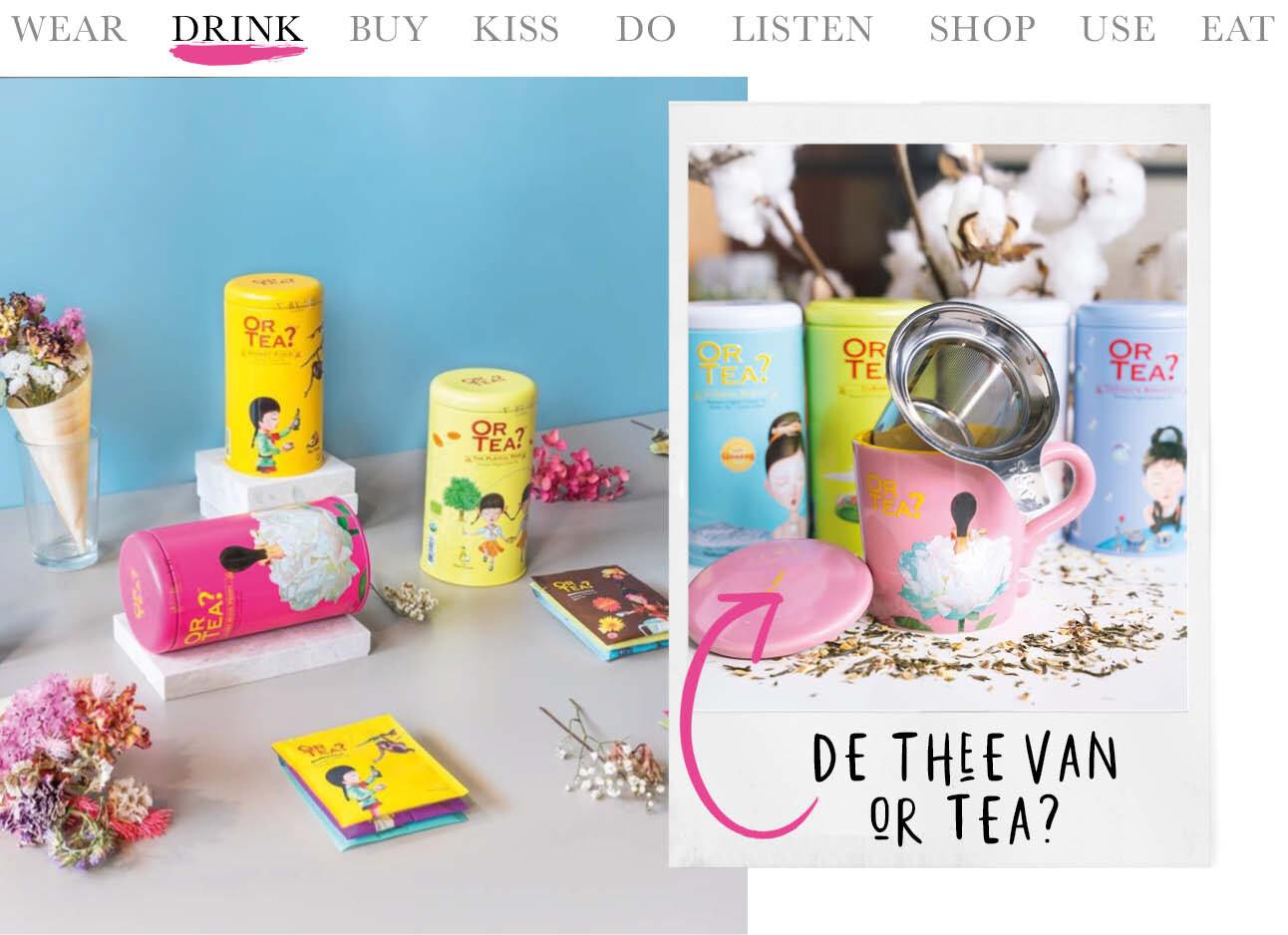 Todaywe… Drink Or Tea?