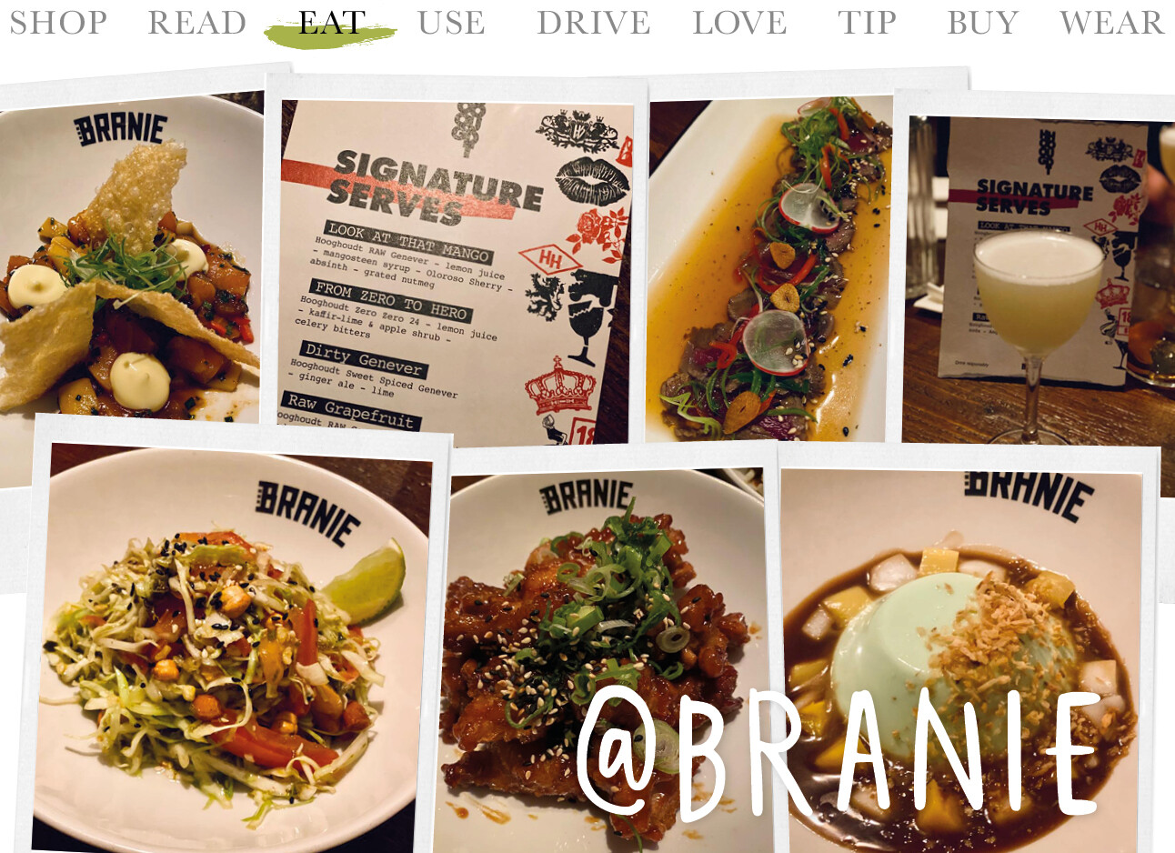 Today we eat at Branie