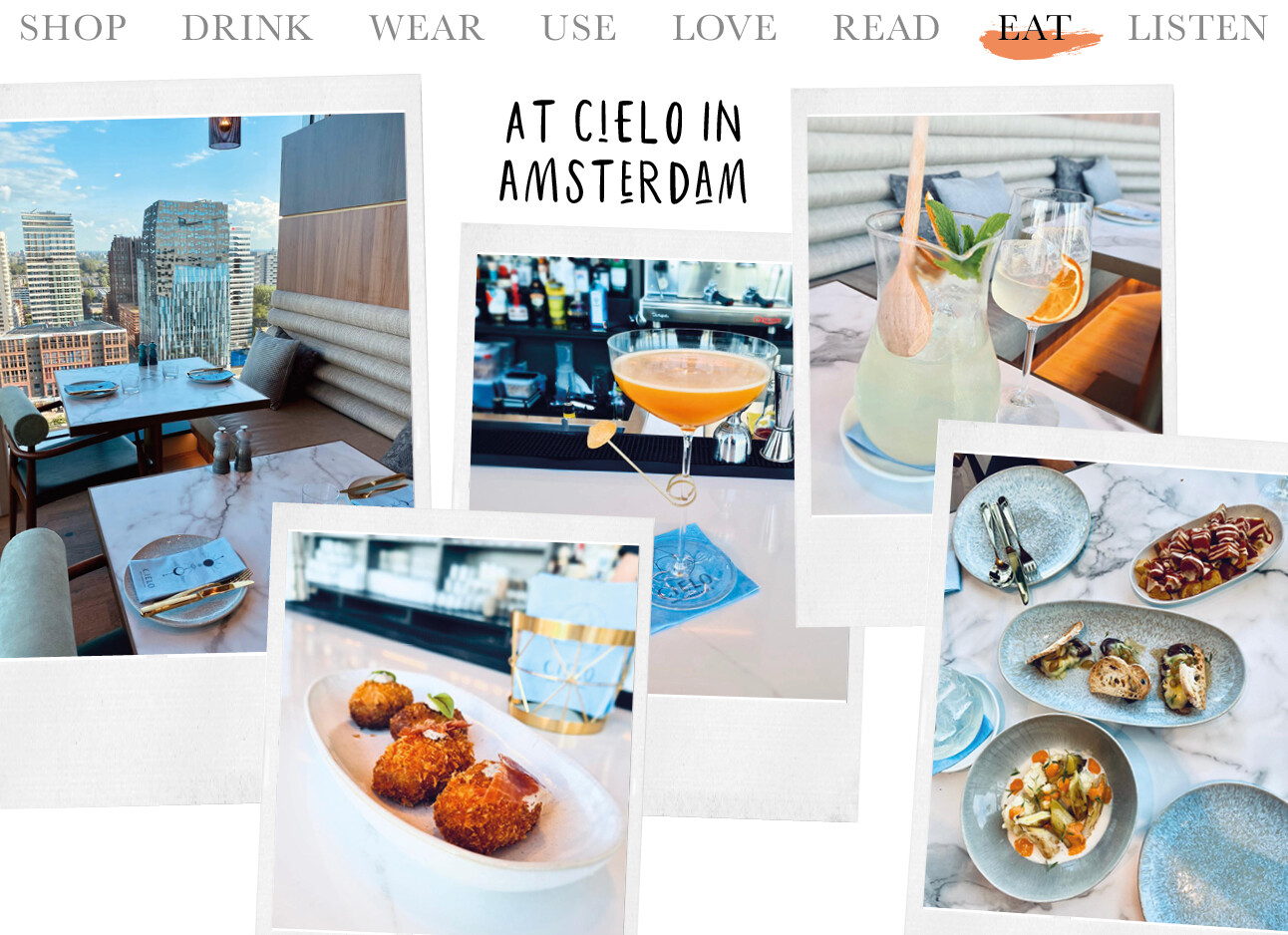 Today we eat at silo Amsterdam