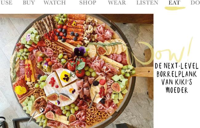 borrelplank, hapjes, kaas, vijgen, worst, vlees, charcuterie, eetbare bloemen