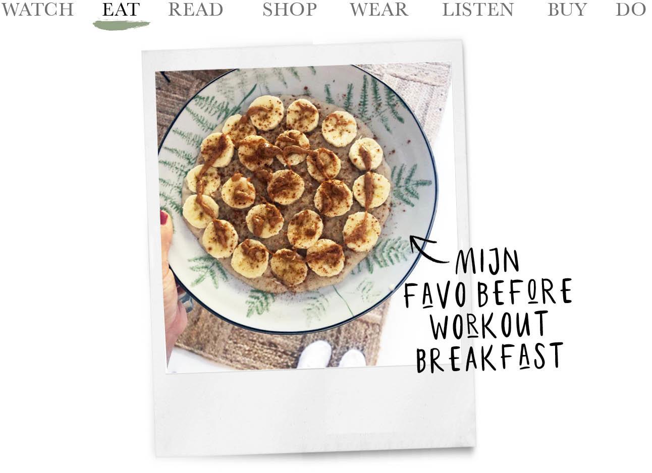 breakfast banaan kiki