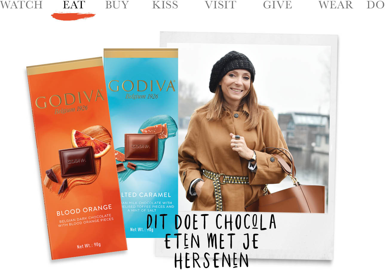 godiva chocolade