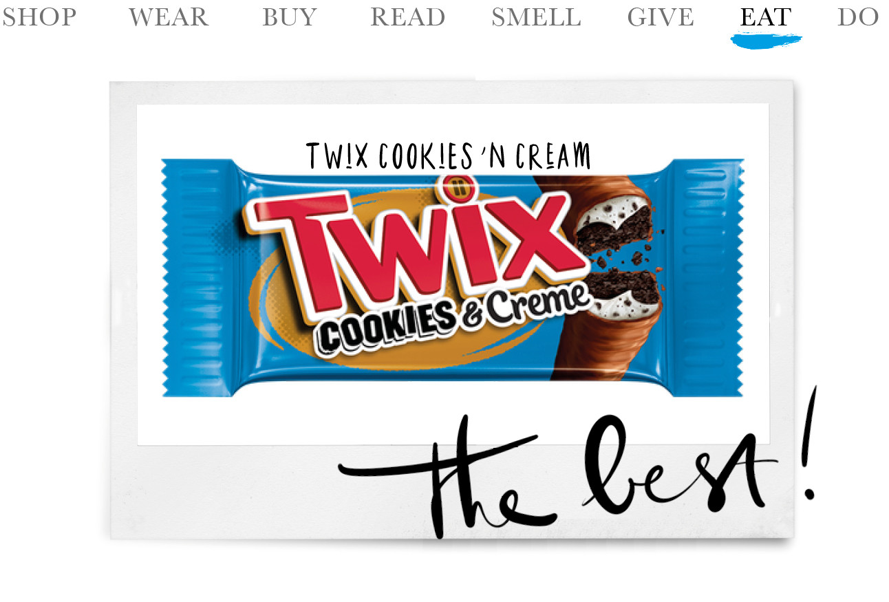Today we eat - Twix Cookies 'n Cream