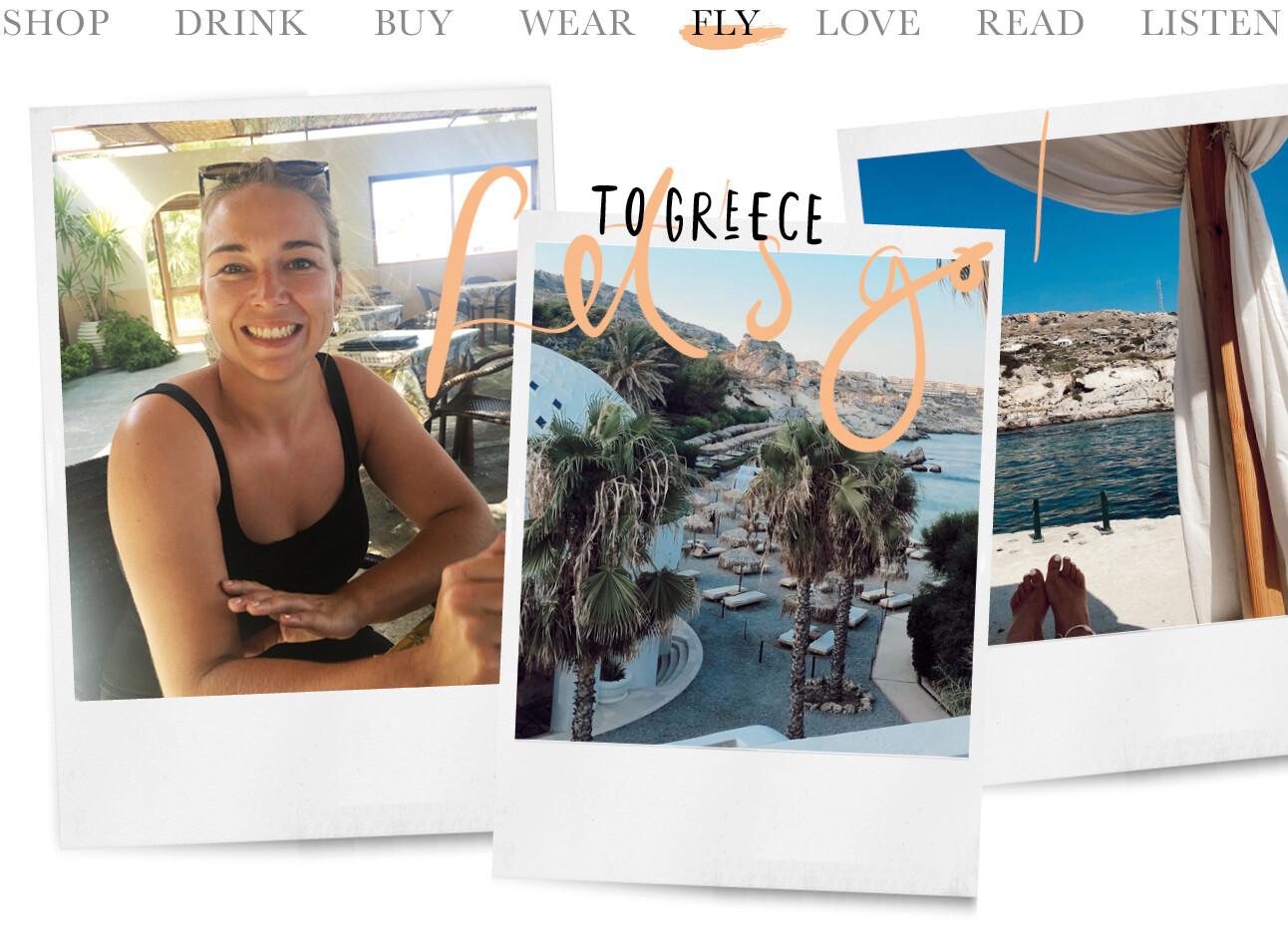 Adeline naar Griekenland
