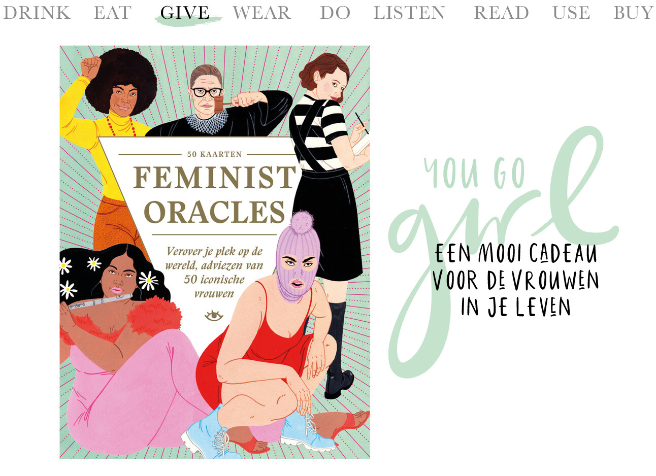 today we give feminist oracles cards