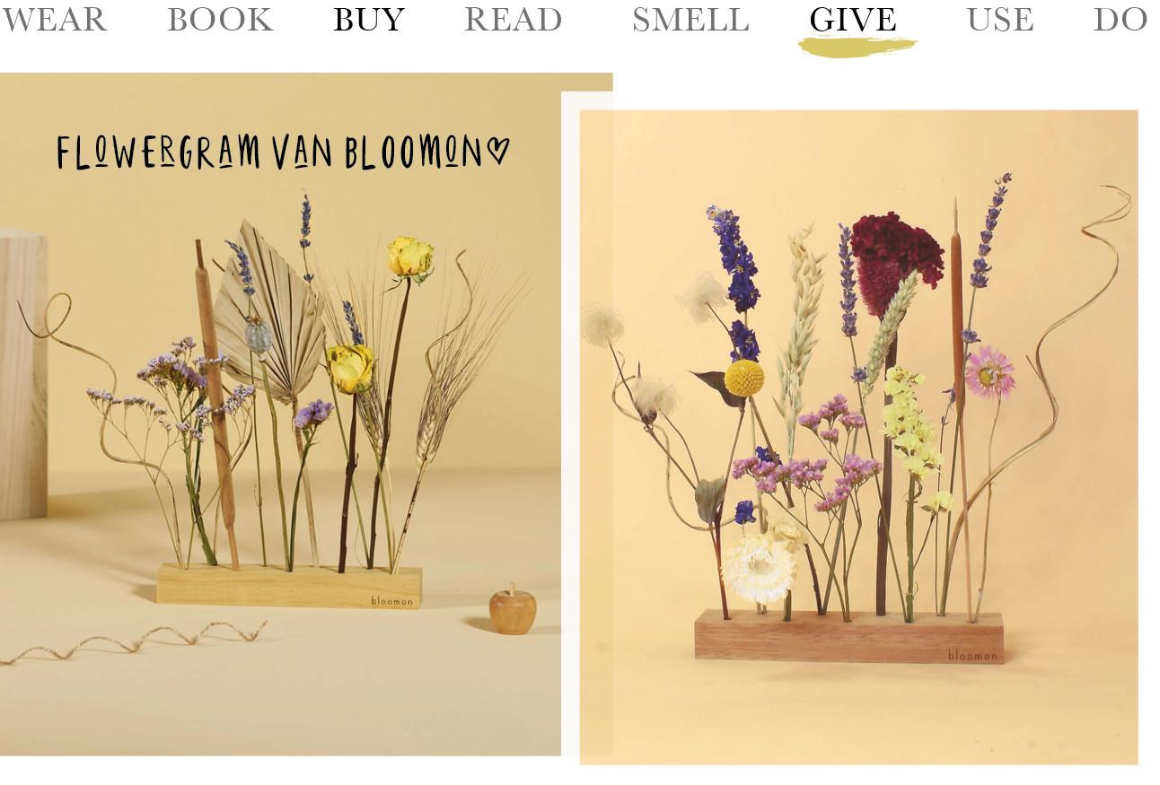Bloomon flower Gram