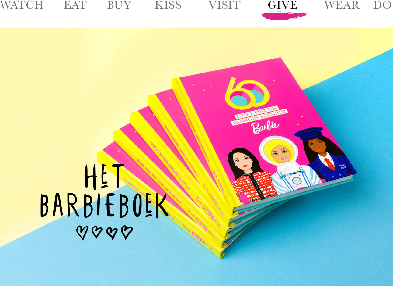 het barbieboek 60 jaar today we