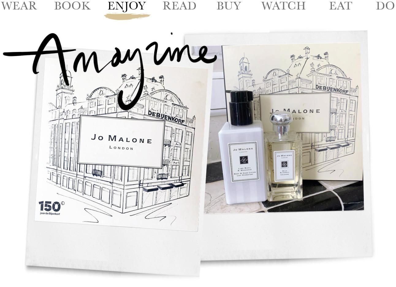 Jo Malone parfum de bijenkorf 150 jaar