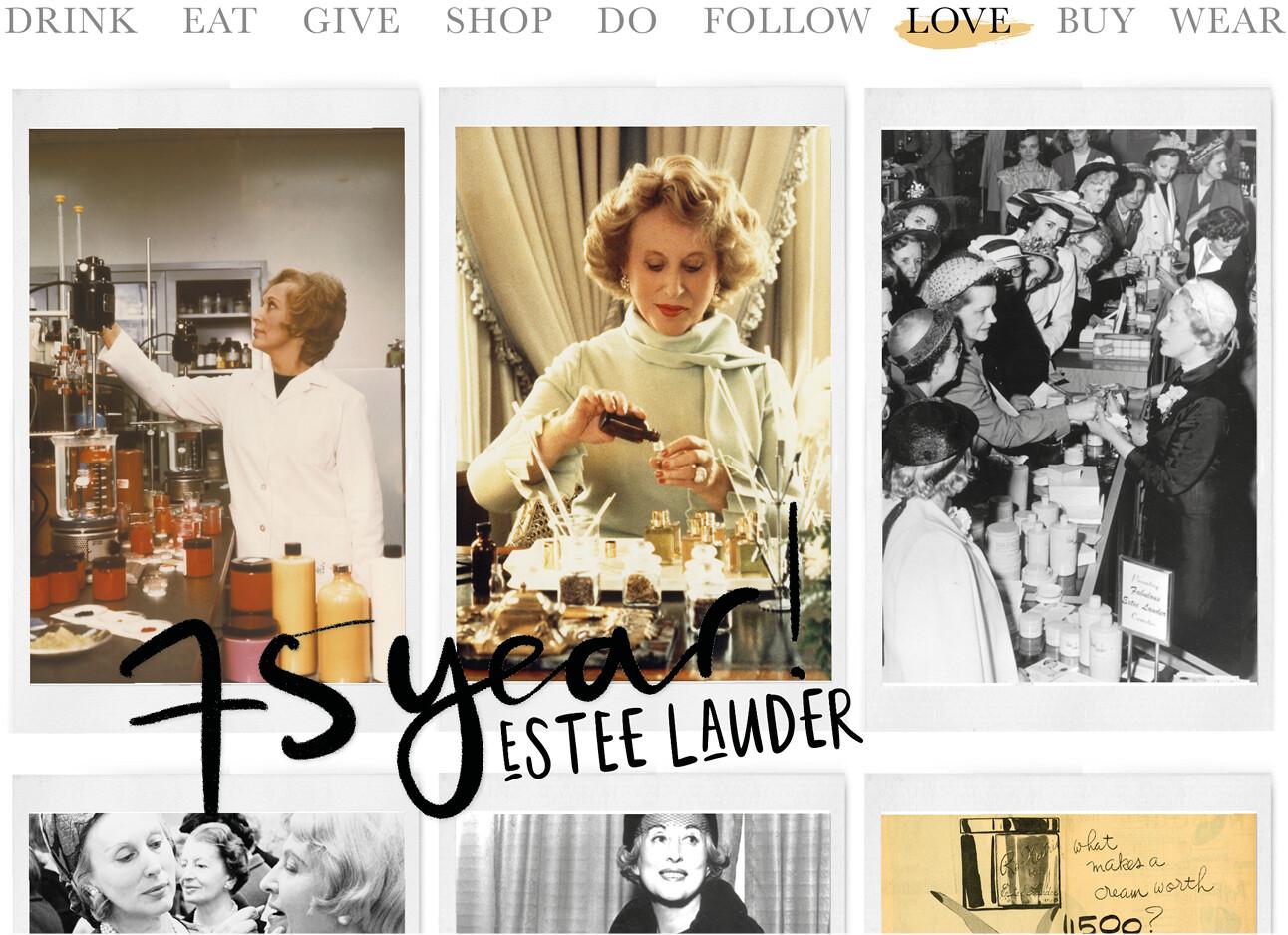 Estée Lauder 75 jaar