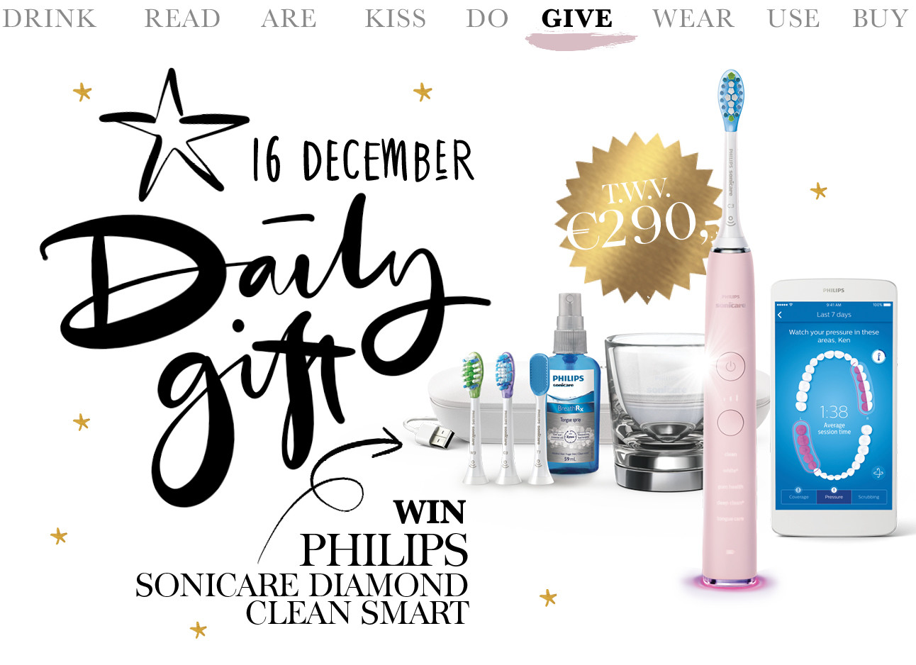 today we give philips sonicare