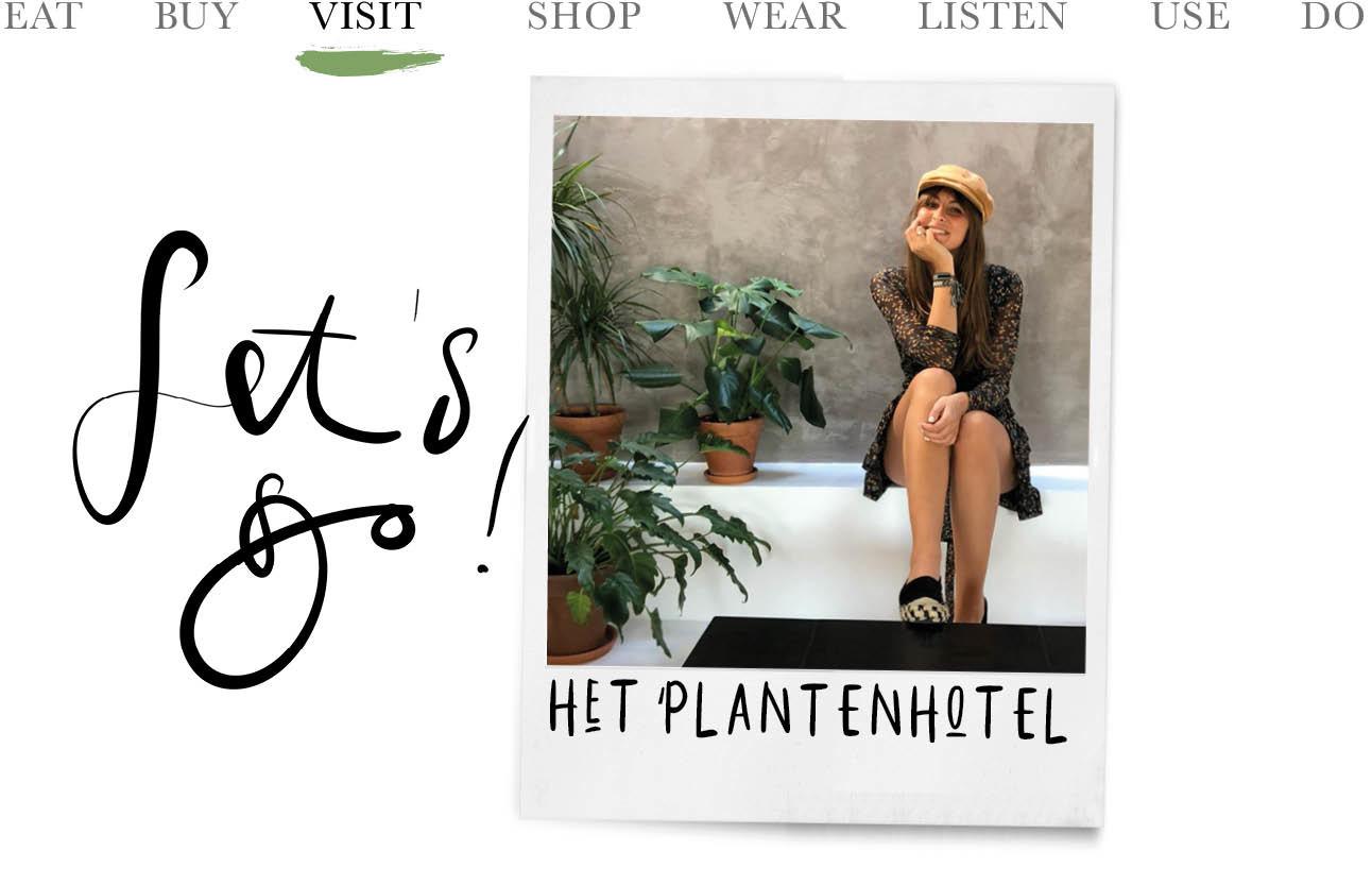 lilian brijl met planten