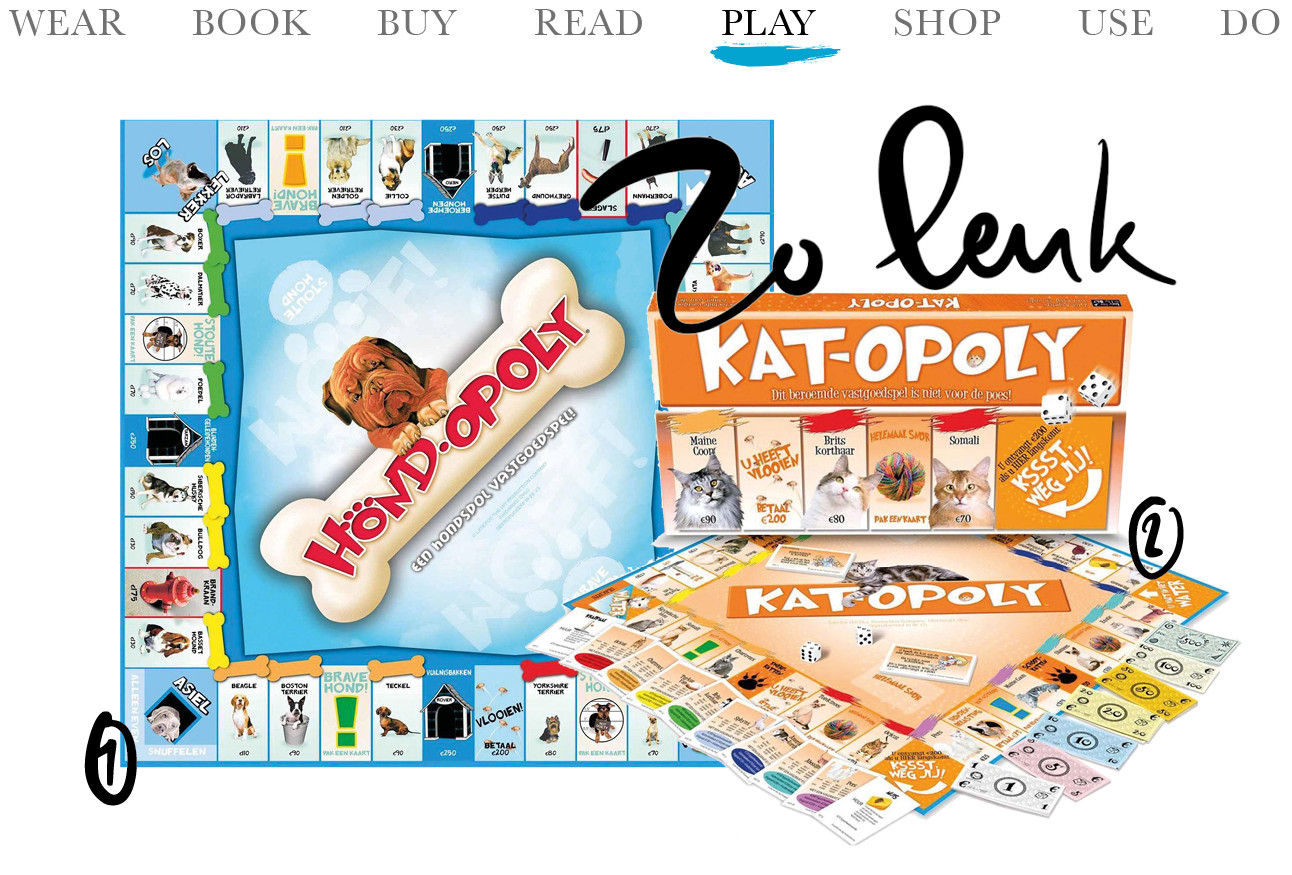 Today we play Hond-Opoly